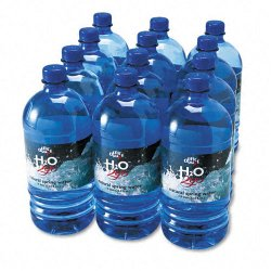 Office Snax - 00026 - Bottled Spring Water, 1000mL, 12/Carton