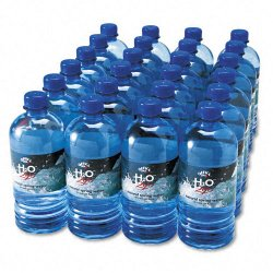 Office Snax - 00027 - Bottled Spring Water, 20oz, 24/Carton