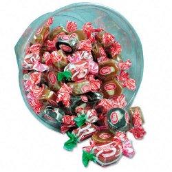Office Snax - 00029 - Goetze's Caramel Creams, Lt & Dark Caramel Candy, One 24oz Bowl
