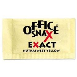 Office Snax - 000062 - Yellow Sweetener, 2000 Packets/Carton
