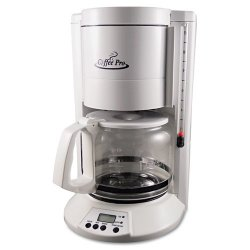 Coffee Pro - CP330W - Home/Office 12-Cup Coffee Maker, White