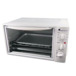 Coffee Pro - OG20 - Multi-Function Toaster Oven with Multi-Use Pan, 15 x 10 x 8, White