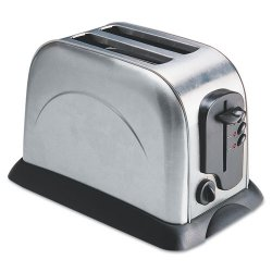 Coffee Pro - OG8073 - 2-Slice Toaster with Adjustable Slot Width, Stainless Steel