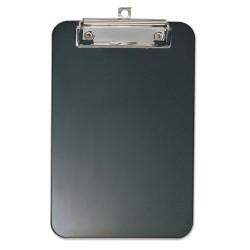 OfficeMate - 83002 - Plastic Memo Clipboard, 1/2 Capacity, 6 x 9, Black
