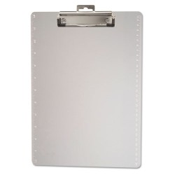 OfficeMate - 83016 - Plastic Clipboard, 1/2 Capacity, Holds 8 1/2 x 11, Clear