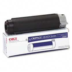 Okidata - 40468801 - Oki Black Toner Cartridge - LED - 6000 Page - 1 Each