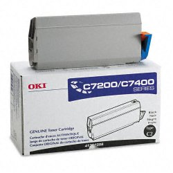 Okidata - 41304208 - Oki Original Toner Cartridge - LED - 10000 Pages - Black - 1 Pack