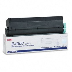 Okidata - 42102901 - Oki Black Toner Cartridge - LED - 6000 Page - 1 Each