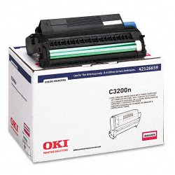 Okidata - 42126659 - Oki Type C6 Magenta Image Drum For C 3200 and C 3200N Printers - 15000 Page - 1 Each