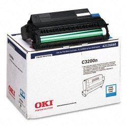 Okidata - 42126660 - Oki Type C6 Cyan Image Drum For C 3200 and C 3200N Printers - 15000 Page - 1 Each