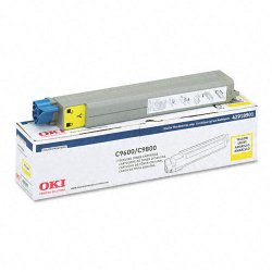 Okidata - 42918901 - Oki Type C7 Yellow Toner Cartridge - LED - 15000 Page - 1 Each