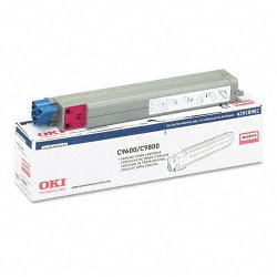 Okidata - 42918902 - Oki Type C7 Magenta Toner Cartridge - LED - 15000 Page - 1 Each