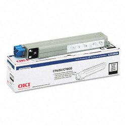 Okidata - 42918904 - Oki Type C7 Black Toner Cartridge - LED - 15000 Page - 1 Each