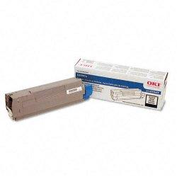 Okidata - 43324469 - Oki Black Toner Cartridge - LED - 5000 Page - 1 Each