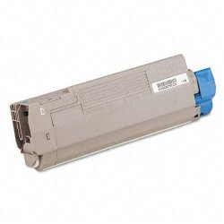 Okidata - 43381903 - Oki Cyan Toner Cartridge - LED - 2000 Page - 1 Each