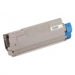 Okidata - 43381904 - Oki Black Toner Cartridge - LED - 2000 Page - 1 Each