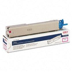 Okidata - 43459302 - Oki High-Capacity Magenta Toner Cartridge - LED - 2000 Page - 1 Each