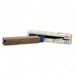 Okidata - 43459303 - Oki High-Capacity Cyan Toner Cartridge - LED - High Yield - 2000 Page - 1 Each