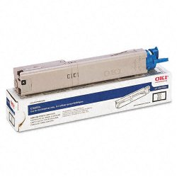 Okidata - 43459304 - Oki Original Toner Cartridge - LED - 2500 Pages - Black - 1 Each