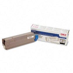 Okidata - 43487736 - Oki Black Toner Cartridge - Laser - 6000 Page - 1 Each