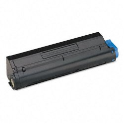 Okidata - 43502001 - Oki Original Toner Cartridge - LED - 7000 Pages - Black - 1 Each