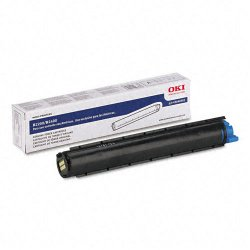 Okidata - 43640301 - Oki Black Toner Cartridge - Black - LED - 2000 Page - 1 Each