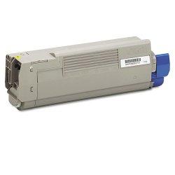 Okidata - 43865717 - Oki Original Toner Cartridge - LED - 6000 Pages - Yellow - 1 Each