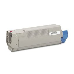 Okidata - 43865718 - Oki Magenta Toner Cartridge - LED - 6000 Page - 1 Each