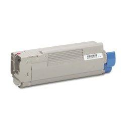 Okidata - 43865718 - Oki Original Toner Cartridge - LED - 6000 Pages - Magenta - 1 Each