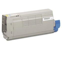 Okidata - 43866101 - Oki Original Toner Cartridge - LED - 11500 Pages - Yellow - 1 Each