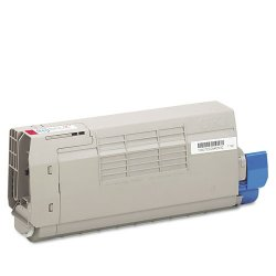 Okidata - 43866102 - Oki Original Toner Cartridge - LED - 11500 Pages - Magenta - 1 Each