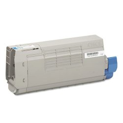 Okidata - 43866103 - Oki Cyan Toner Cartridge - LED - 11500 Page - 1 Each