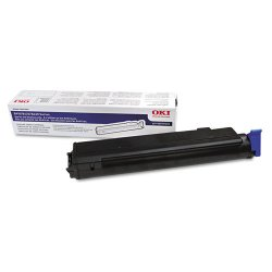 Okidata - 43979101 - Oki Original Toner Cartridge - LED - 3500 Pages - Black - 1 Each