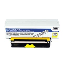 Okidata - 44250709 - Oki Original Toner Cartridge - LED - 1500 Pages - Yellow