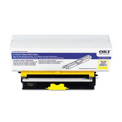 Okidata - 44250713 - Oki Toner Cartridge - LED - 2500 Pages - Yellow - 1 Each