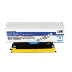 Okidata - 44250715 - Oki Toner Cartridge - LED - 2500 Pages - Cyan - 1 Each