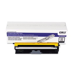Okidata - 44250716 - Oki Toner Cartridge - LED - High Yield - 2500 Pages - Black - 1 Each