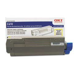 Okidata - 44315301 - Oki Toner Cartridge - LED - 6000 Page - 1 Each