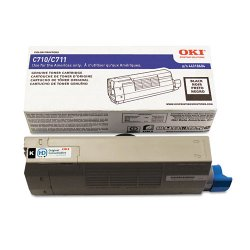 Okidata - 44318604 - Oki Toner Cartridge - LED - 11000 Pages - Black - 1 Each