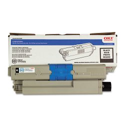 Okidata - 44469801 - Oki Original Toner Cartridge - LED - 3500 Pages - Black - 1 Pack