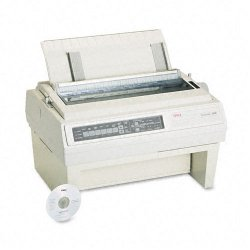 Okidata - 61800801 - OKI Pacemark 3410 - Printer - monochrome - dot-matrix - Roll (16 in) - 240 x 216 dpi - 9 pin - up to 550 char/sec - parallel, serial