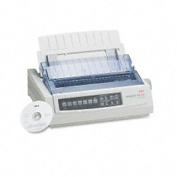 Okidata - 62411901 - OKI Microline 390 Turbo - Printer - B/W - monochrome - dot-matrix - dot-matrix - Other - 360 dpi x 360 dpi - 360 dpi - 24 pin - up to 390 char/sec - up to 390 char/sec - Parallel - parallel