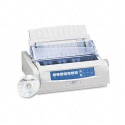 Okidata - 62418701 - OKI Microline 420 - Printer - monochrome - dot-matrix - Legal - 240 x 216 dpi - 9 pin - up to 570 char/sec - parallel, USB