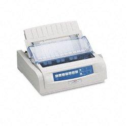 Okidata - 62418703 - OKI Microline 420n - Printer - monochrome - dot-matrix - Roll (10 in) - 240 x 216 dpi - 9 pin - up to 570 char/sec - parallel, USB