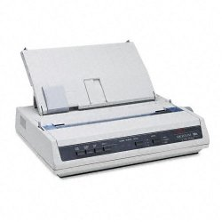 Okidata - 62422401 - OKI Microline 186 - Printer - monochrome - dot-matrix - 240 x 216 dpi - 9 pin - up to 375 char/sec - USB, serial