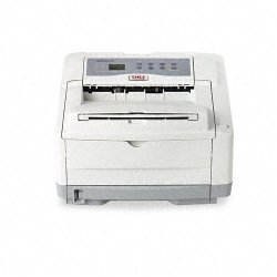 Okidata - 62427206 - Oki B4600N PS LED Printer - Monochrome - 27 ppm Mono - Parallel - Fast Ethernet - PC, Mac