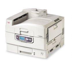 Okidata - 62430608 - Oki C9650HDN LED Printer - Color - 40 ppm Mono - 36 ppm Color - 1200 x 600 dpi - USB, Parallel, Network - Gigabit Ethernet - PC, Mac
