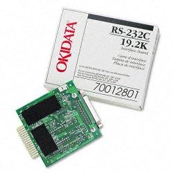 Okidata - 70012801 - Oki Super-Speed 19.2K RS-232C Serial Adapter - 1 x 9-pin DB-9 RS-232C Serial