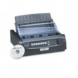 Okidata - 91909701 - OKI Microline 420 - Printer - monochrome - dot-matrix - 240 x 216 dpi - 9 pin - up to 570 char/sec - parallel, USB