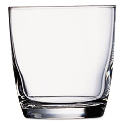 Office Settings - CEX10 - Marbel Beverage Glasses, 10.5oz, Clear, 6/Box